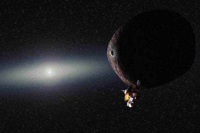 New Horizons bij object Kuipergordel