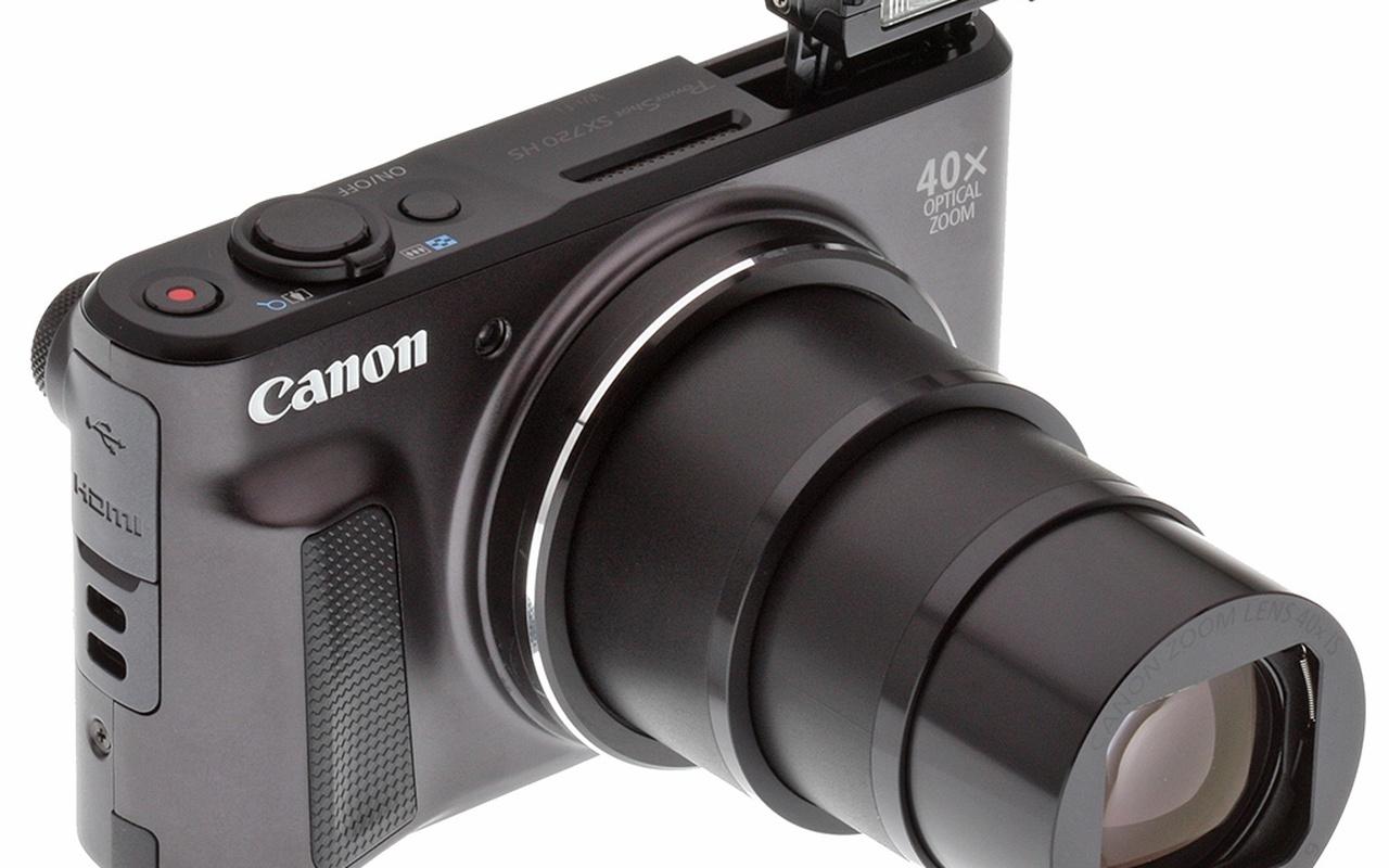 Compactcamera's Canon SX720 HS en Sony DSC-RX100