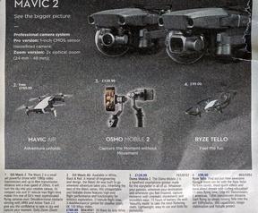 DJI Mavic 2 in catalogus