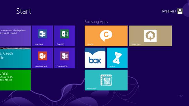 Samsung ATIV Tab - software