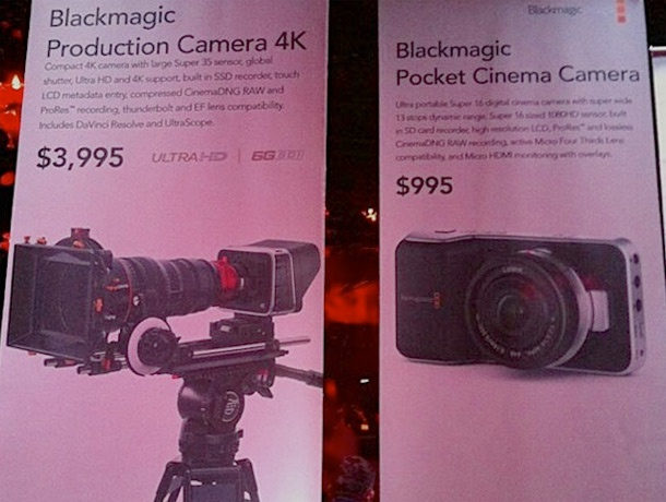 Blackmagic Design Pocket Cinema Camera 2k Super 16 610px
