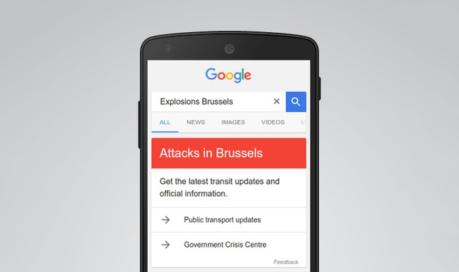 Google Now Brussel