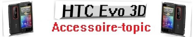 header HTC Evo 3D accessoires