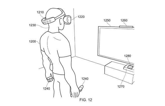 PlayStation VR Patent Sony