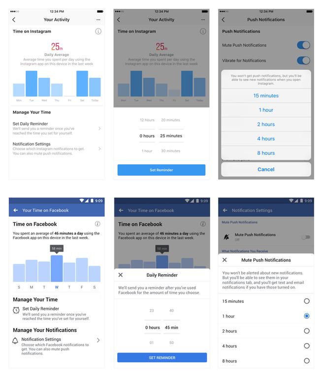 Tools om tijd te managen op Facebook en Instagram