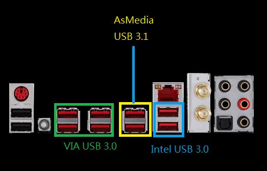 ASMedia usb 3.1