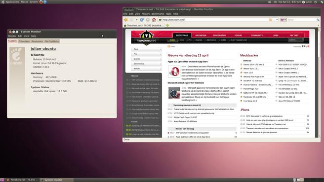 Ubuntu 10.04 LTS bèta 2