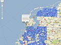 Google Street View NL dekking - november 2009