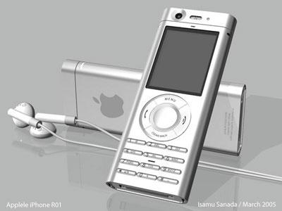 Mockup van iPhone voor aankondiging
