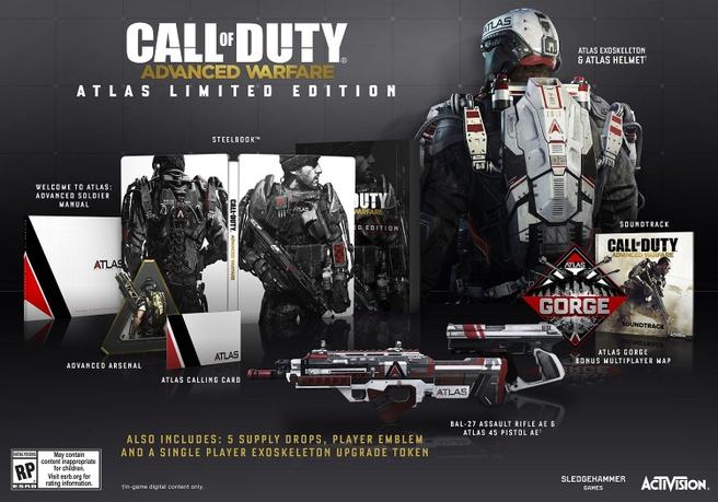 Call Of Duty: Advanced Warfare Atlas Edition, Xbox One