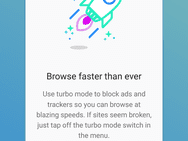 Firefox Rocket bij release oktober 2017