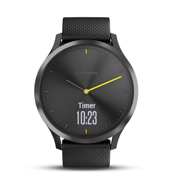 Garmin Vivomove Vivomove HR Smartwatch Sport - Zwart