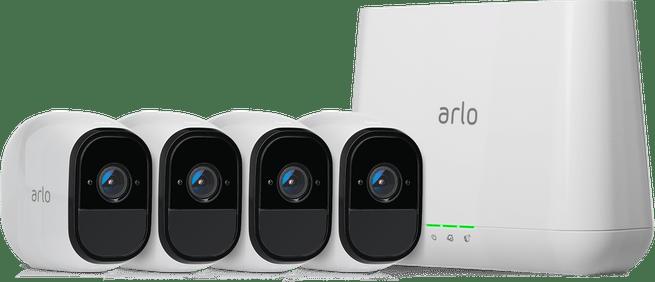 Arlo Pro met 4 camera's