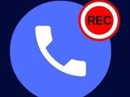 Google Phone opname. Bron: XDA Developers