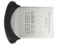 Sandisk Ultra Fit 128GB Zwart