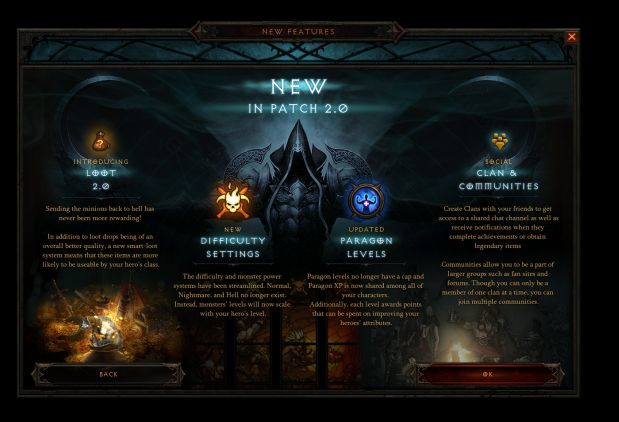 Diablo 3 patch 2.0