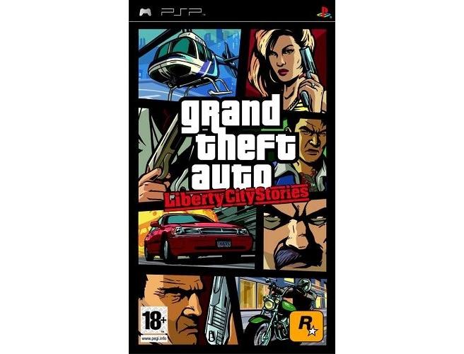 Packshot voor Grand Theft Auto: Liberty City Stories