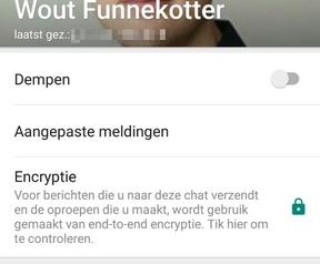 WhatsApp tekstuele status