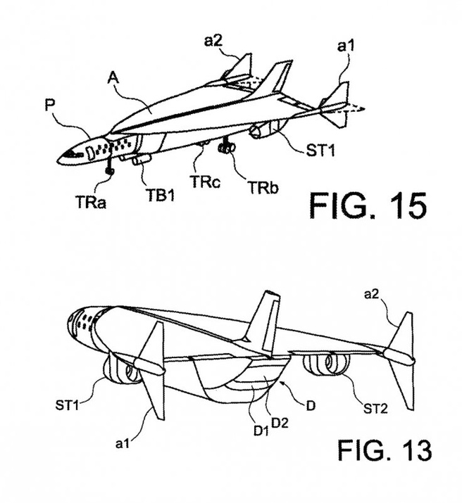 Airbus Hypersonic Aircraft patent