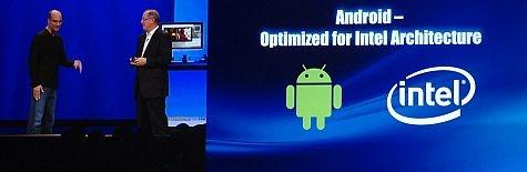 IDF 2011 Rubin en Otellini Android en Intel
