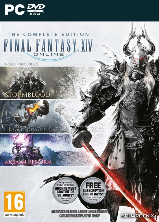 Final Fantasy XIV Online - Complete Edition, PC (Windows)