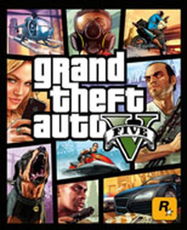 Box Grand Theft Auto V