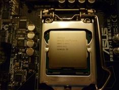 Kale CPU op moederbord