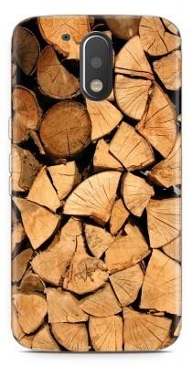 Just in Case Motorola Moto G4/G4 Plus Hoesje Boomstammen