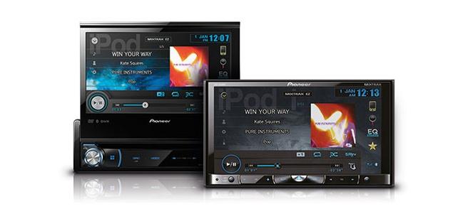 Pioneer AVH‑X7500BT en AVH‑X8500BT