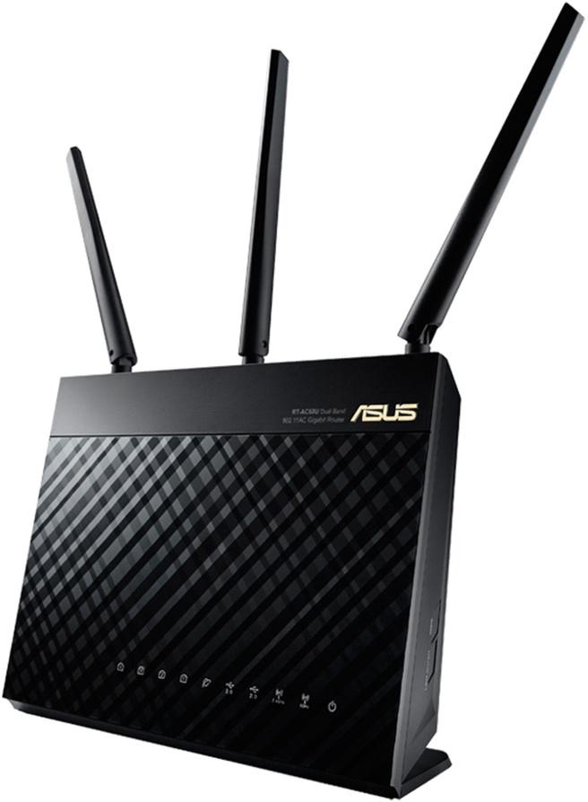 Asus RT-AC68U Zwart