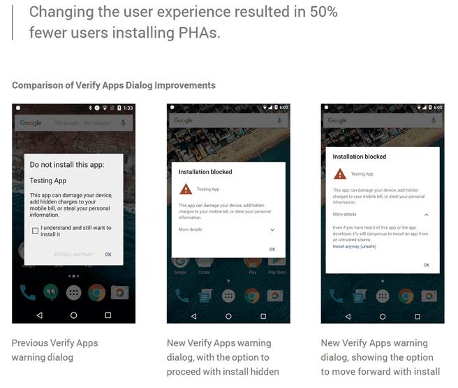 Google Verified Apps