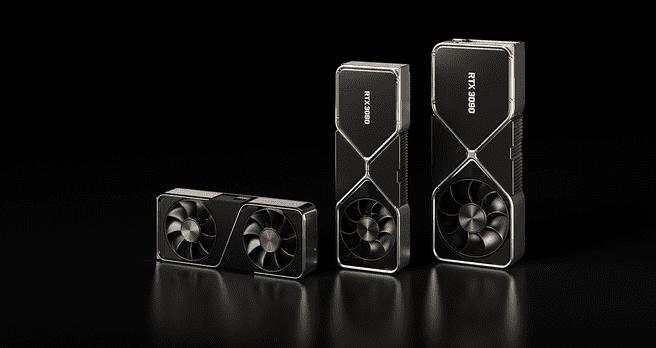 RTX 3090, 3080 en 3070