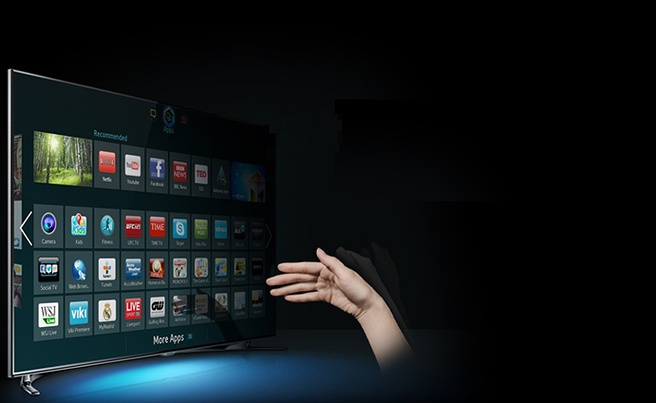 Tizen smart tv van Samsung