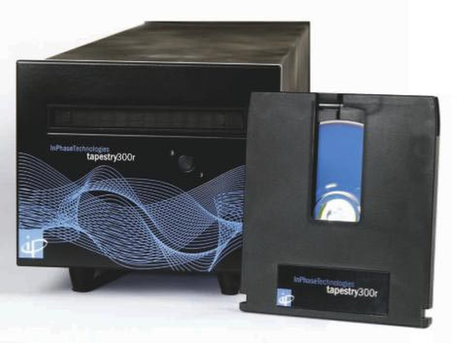 Inphase holografische drive en -disk