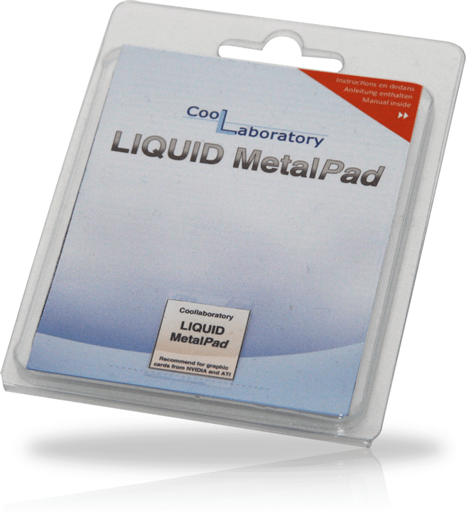 Coollaboratory Liquid Metal Pad GPU