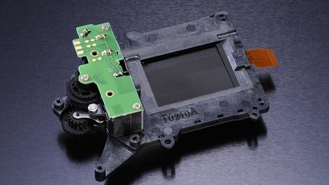 Nikon D7000 Sluitermechanisme
