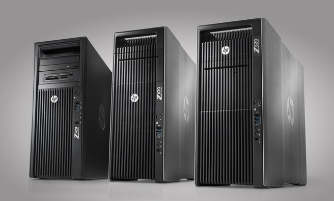 HP Workstations: Z820, Z620 en Z420
