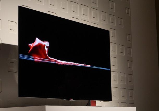 LG oled-tv nieuw ontwerp