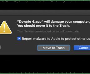 Apple: Downie is malware