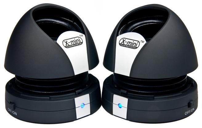XMI X-mini Max XM-I X-miniMax II Black Capsule Speaker 2.0 Zwart