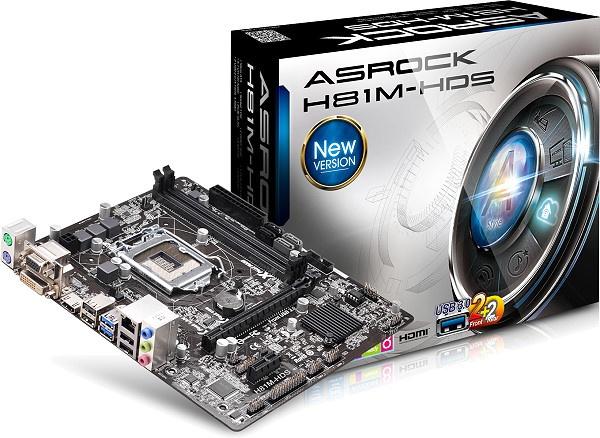 ASRock Intel H81 Asrock H81M-HDS