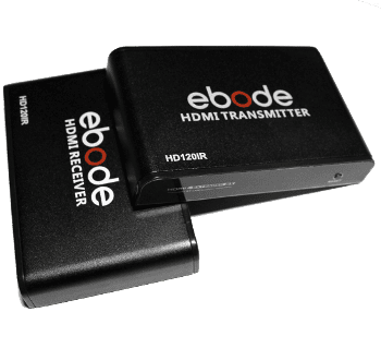 Ebode HD120IR HDMI over LAN Extender