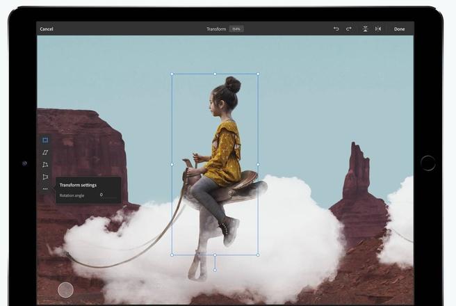 Photoshop Adobe iPad