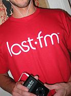 Last.fm-t-shirt