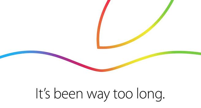 Apple-uitnodiging iPads 16 oktober 2014