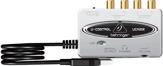 Behringer Ucontrol UCA202 USB/Audio Interface