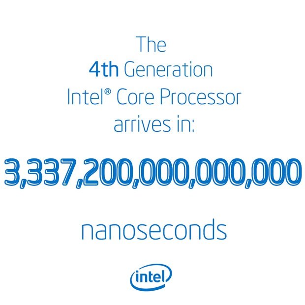 Intel Haswell coutndown