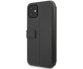 Mercedes-Benz New Bow Book Case - Apple iPhone 11 (6.1'') - Zwart  Zwart