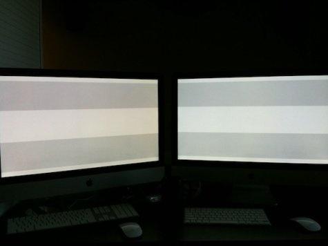 Gele waas 27 inch iMac