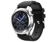 Goedkoopste qMust Sport armband voor Samsung Gear S3 Classic / Frontier - Zwart